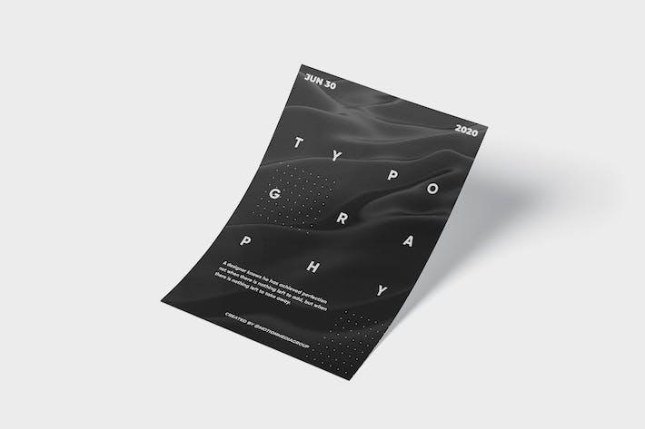 Thumbnail for Абстрактная типография плакат
