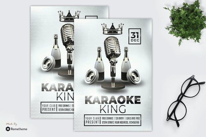 Thumbnail for Karaoke King - Flyer MR