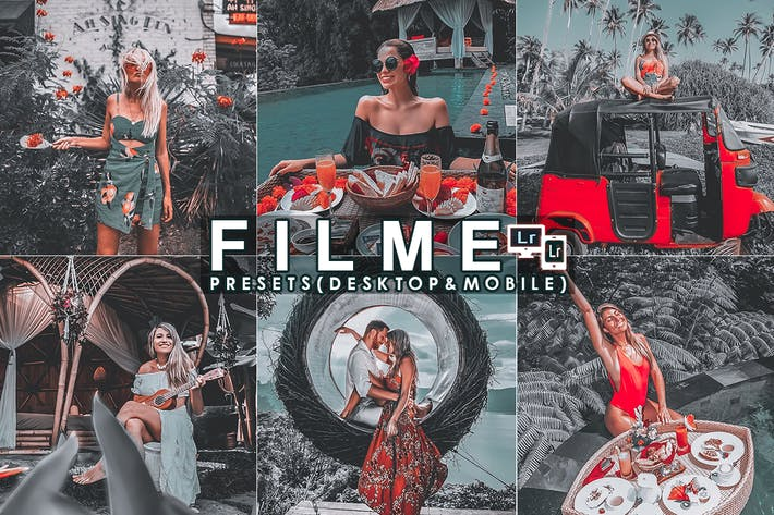 Thumbnail for Film Filter Lightroom Presets