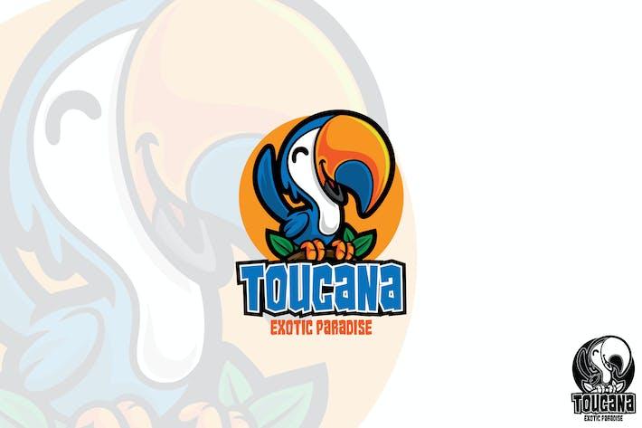 Thumbnail for Toucan Bird Vector Logo Mascot