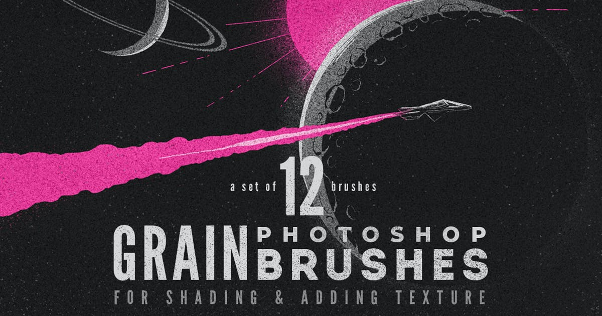 Download Grain Volume I Photoshop Brushes by MiksKS