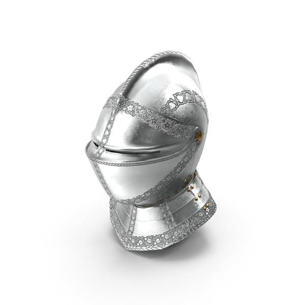 Mittelalterlicher Rüstungshelm