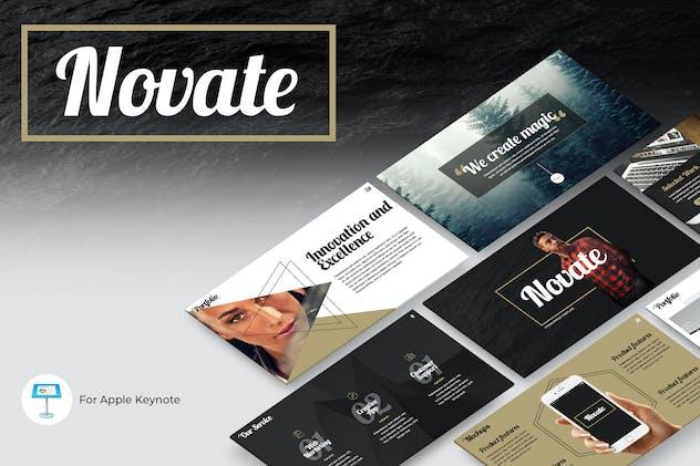 Novate Keynote Presentation Template