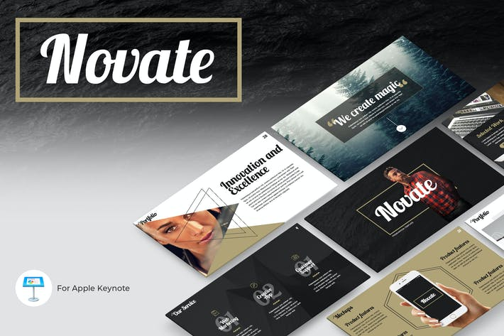 Thumbnail for Novate Keynote Presentation Template