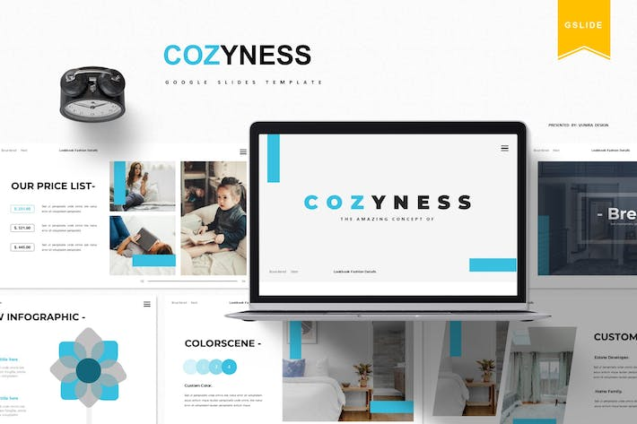 Thumbnail for Cozyness | Google Slides Template