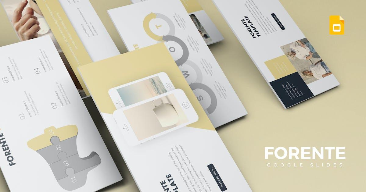 Download Fornete -  Google Slides Template by aqrstudio