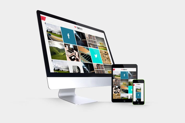 Thumbnail for Responsive Devices Mockups Pack
