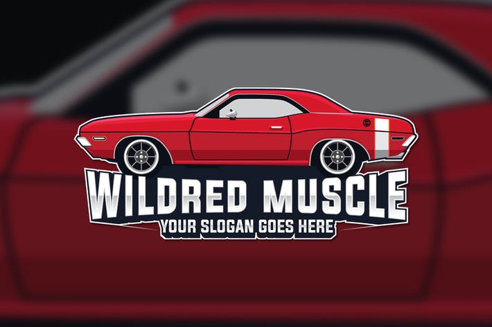 Thumbnail for Muscle Car Logo