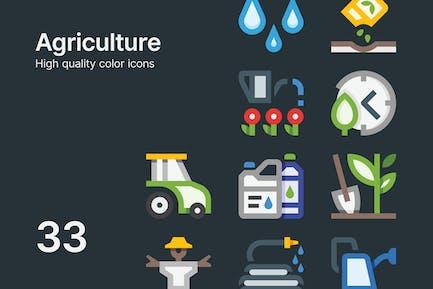 Landwirtschaft Icons