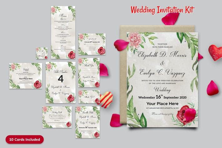 Thumbnail for Wedding Invitation Kit-09