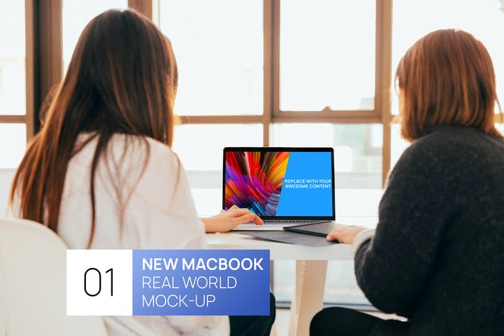 Thumbnail for Person using New MacBook Pro Real World Mock-Up
