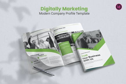 Digital Marketing – Company Profile Template