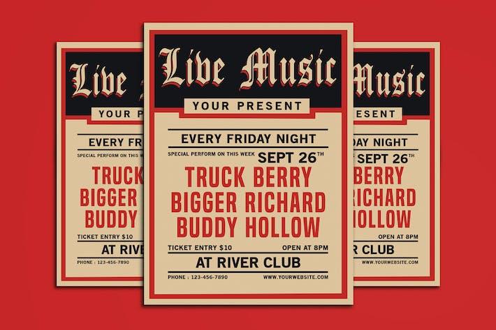 Thumbnail for Vintage Live Music