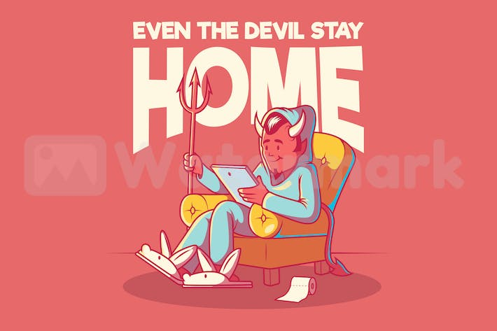 Thumbnail for The Devil is Home