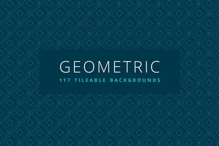 Thumbnail for Geometric | 117 Tileable Backgrounds