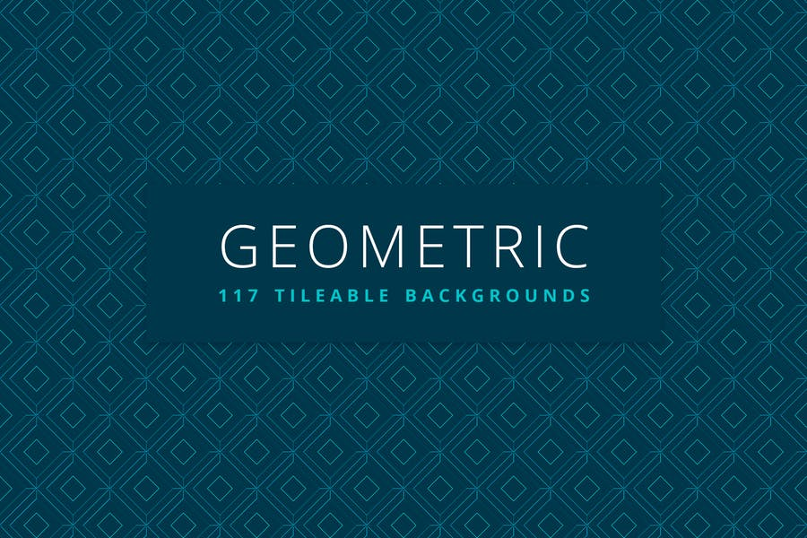 Geometric   117 Tileable Backgrounds