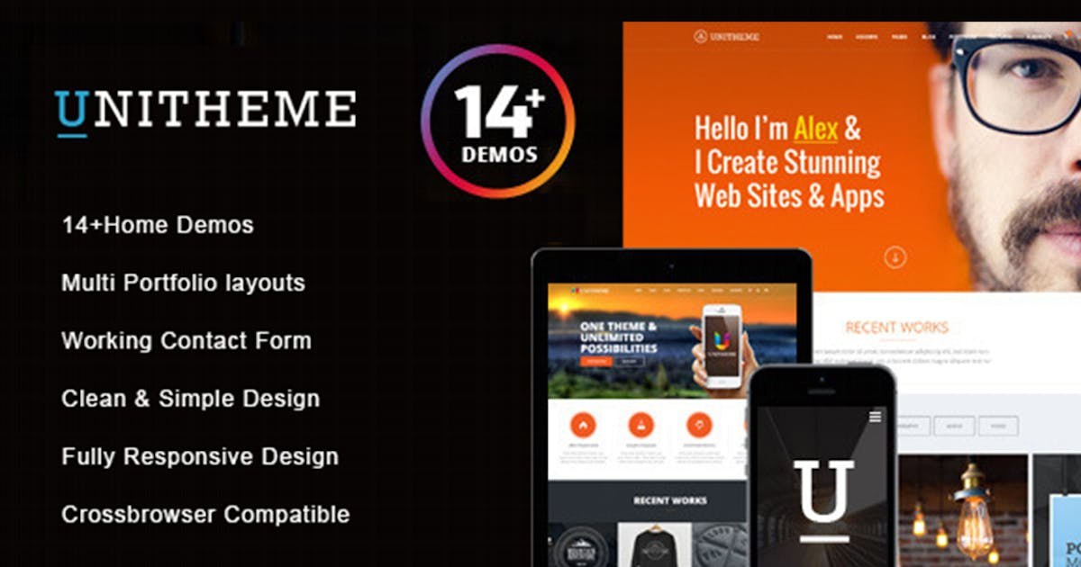 Download UniTheme - Responsive Multi-Purpose HTML Template by max-themes