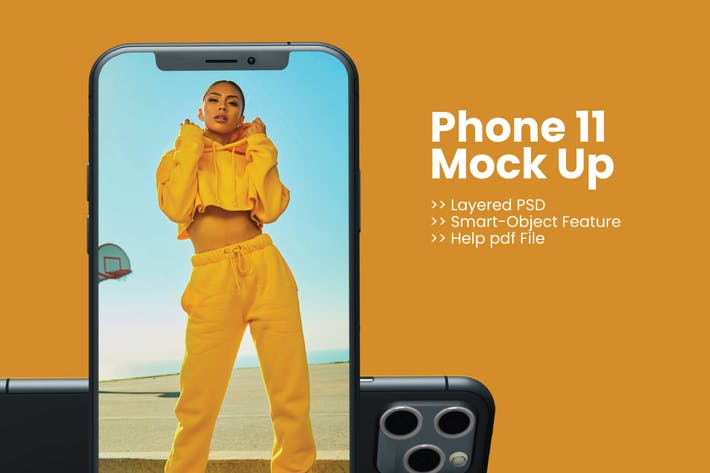 Thumbnail for Phone 11 Mock Up