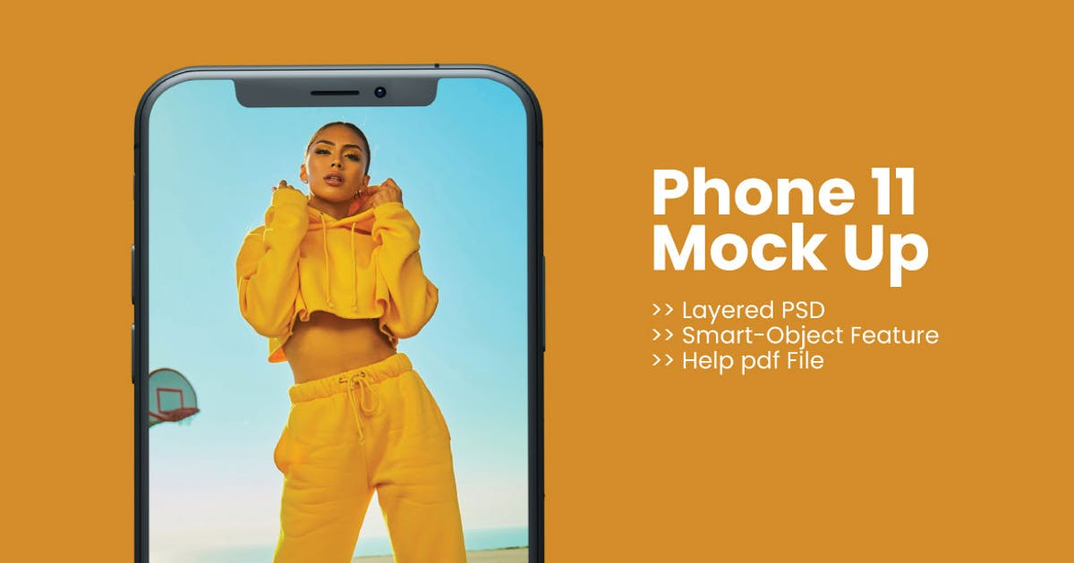 Download Phone 11 Mock Up by thirtypath
