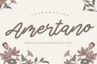 Amertano YH - Monoline Handwritten Font