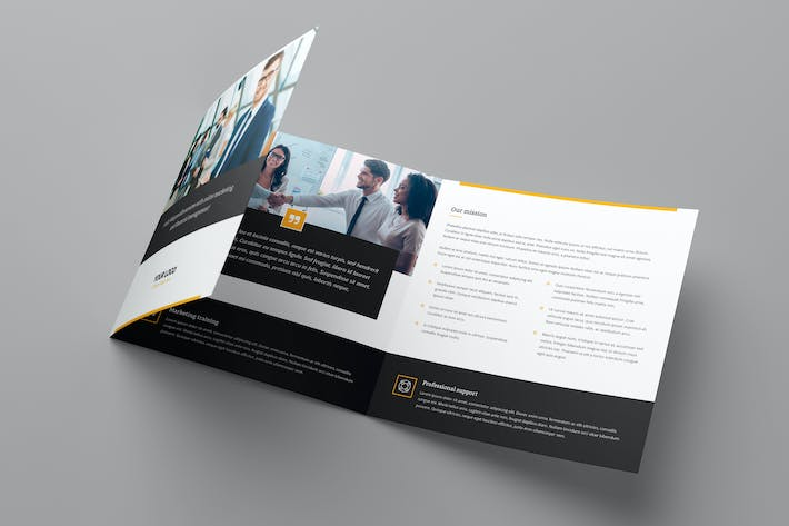 Thumbnail for Brochure – Marketing Tri-Fold Square