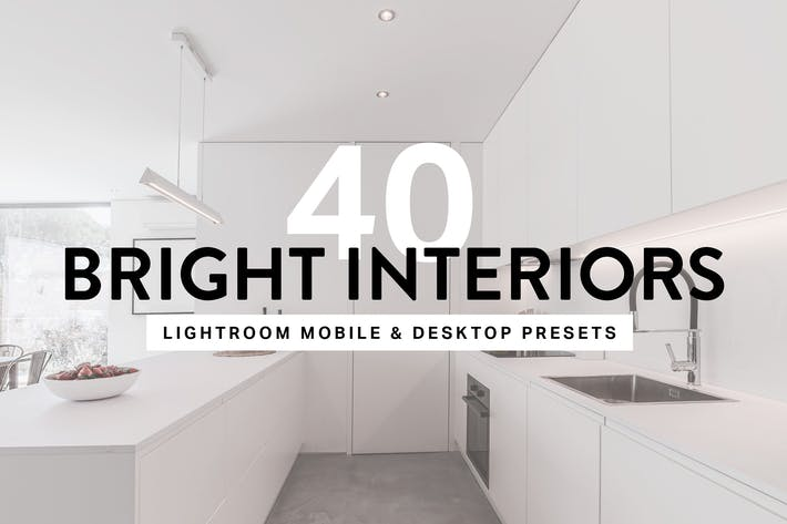 Thumbnail for 40 Bright Interior Lightroom Preset
