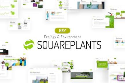 Squareplants Ecology Keynote Template