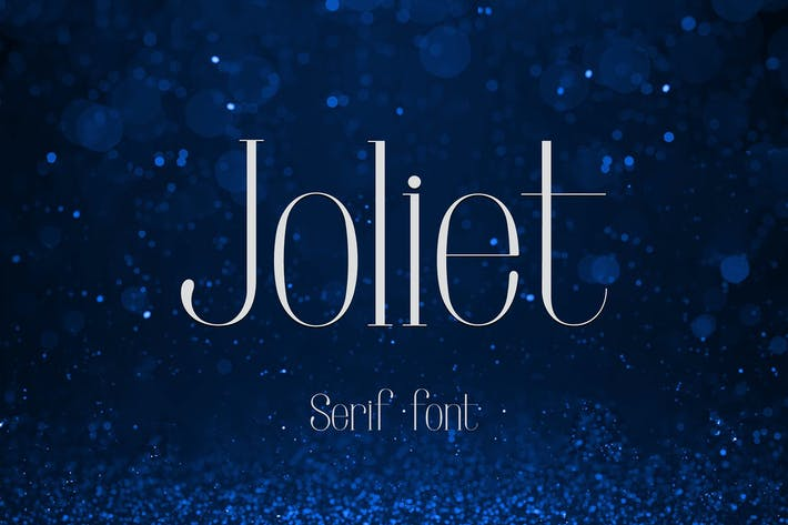 Thumbnail for Joliet - Serif