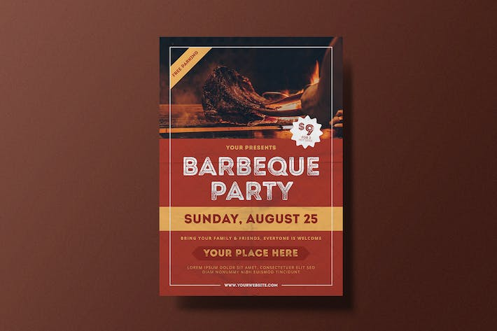 Barbeque Party Flyer