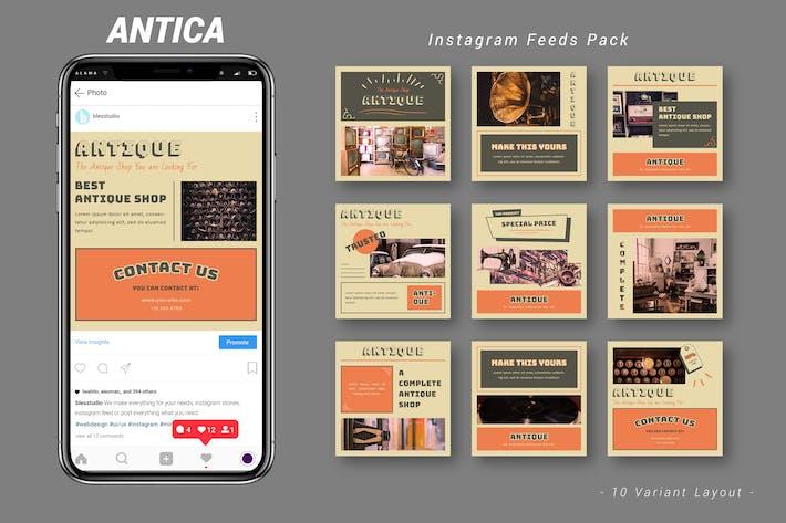 Thumbnail for Antica - Pack de flux Instagram