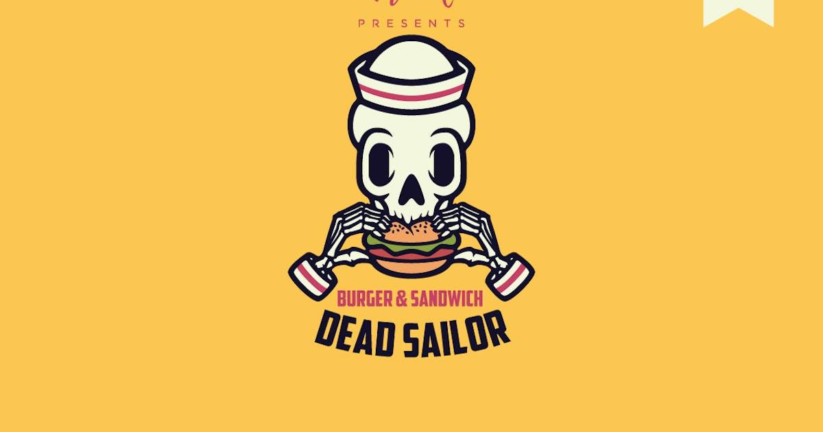 Download Dead Sailor Logo Template by Ijajil