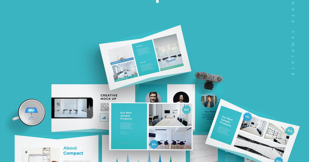 Download Compact - Keynote Template by aqrstudio