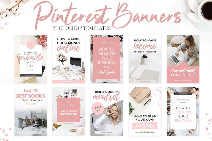 Thumbnail for Pinterest Templates V.1