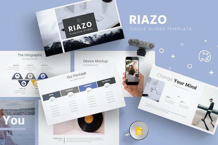 Thumbnail for Riazo - Google Slide Template