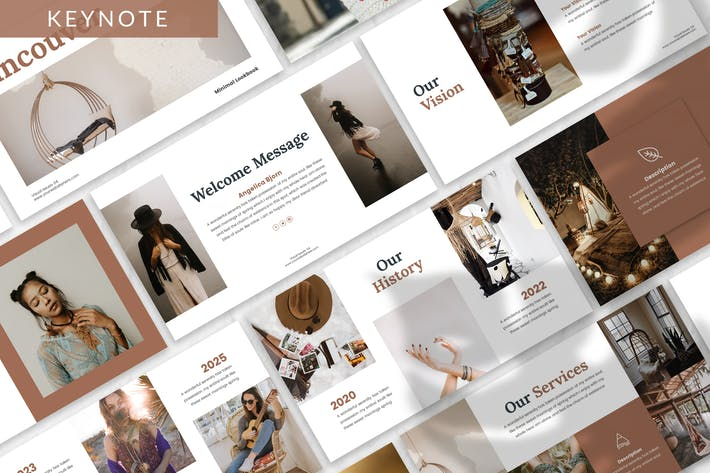 Thumbnail for Vancouver - Lookbook Keynote Template
