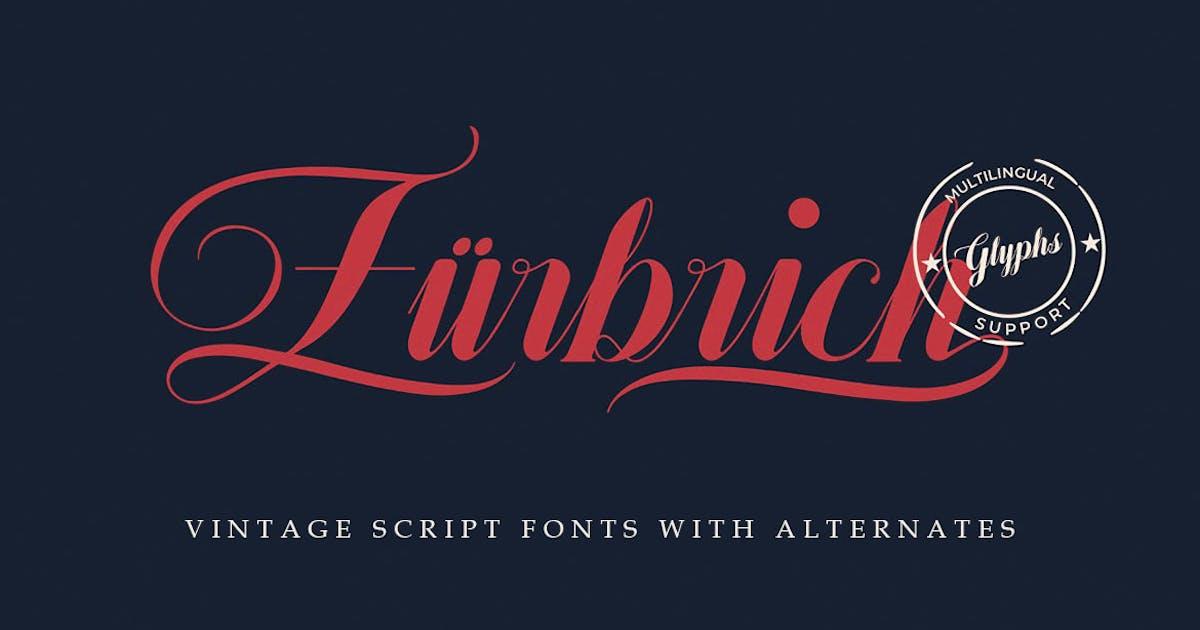 Download Zürbrich Decorative Script by cruzine