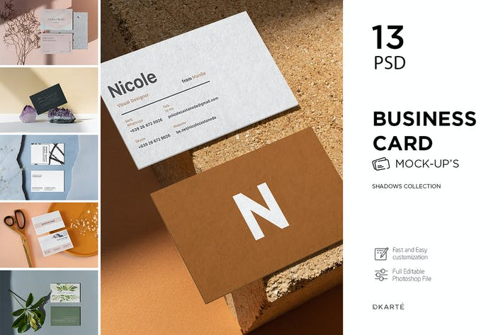 Thumbnail for Business Card Shadows Collection