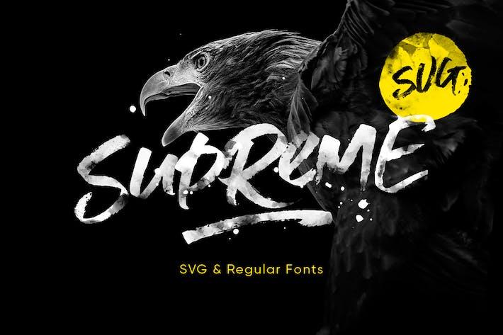 Cover Image For Supreme Script + SVG