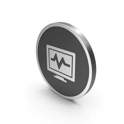 Silver Icon Health Monitor