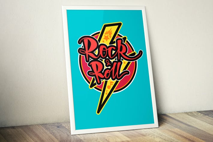 Thumbnail for Rock And Roll Badge