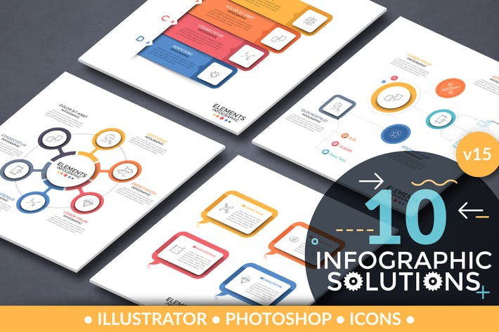 Cover Image For Infographic Solutions. Part 15