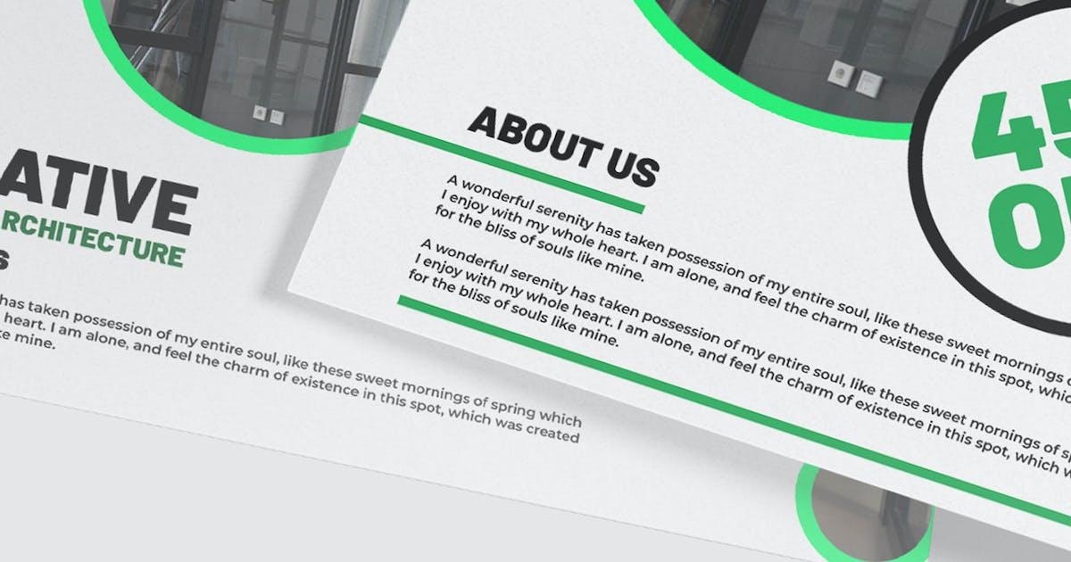 Download Architect Business Postcard Mockup Template by raseuki