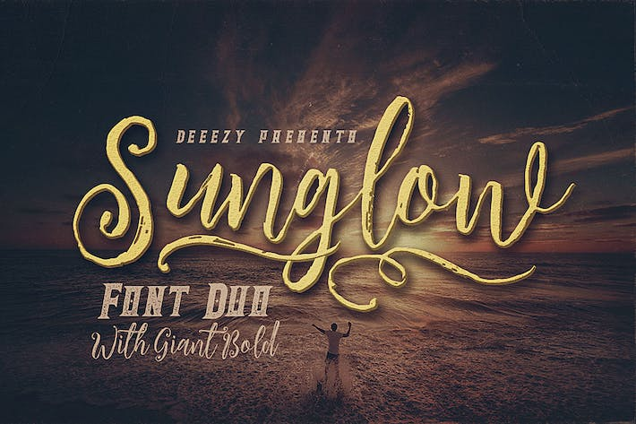 Thumbnail for Sunglow Font Duo