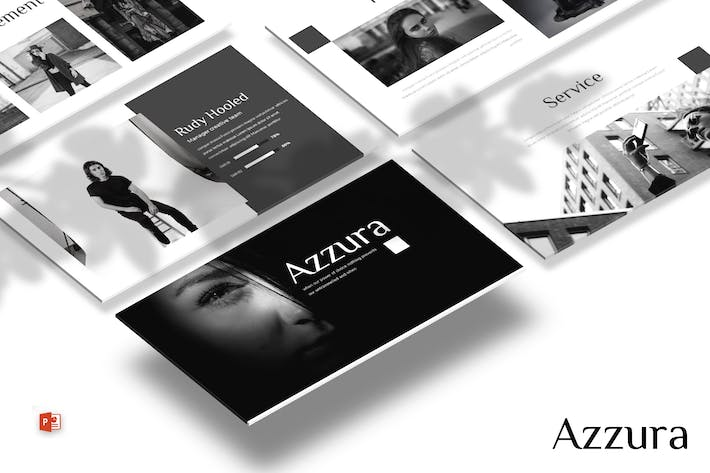 Thumbnail for Azzura - Powerpoint Template