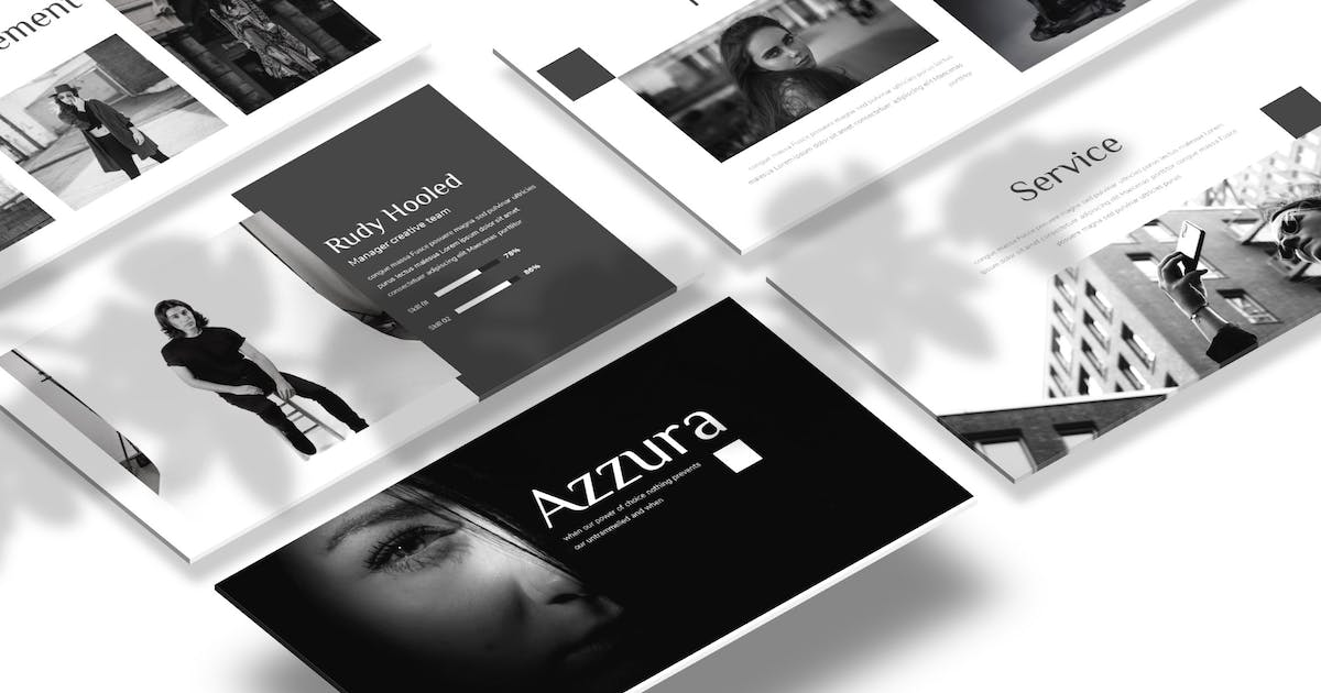 Download Azzura - Powerpoint Template by Macademia