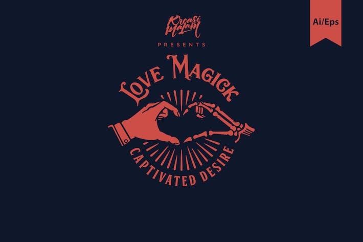 Thumbnail for Love Magick Logo Template