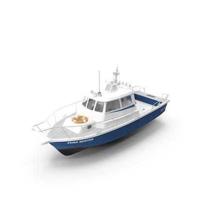 Fischen-Motorboot