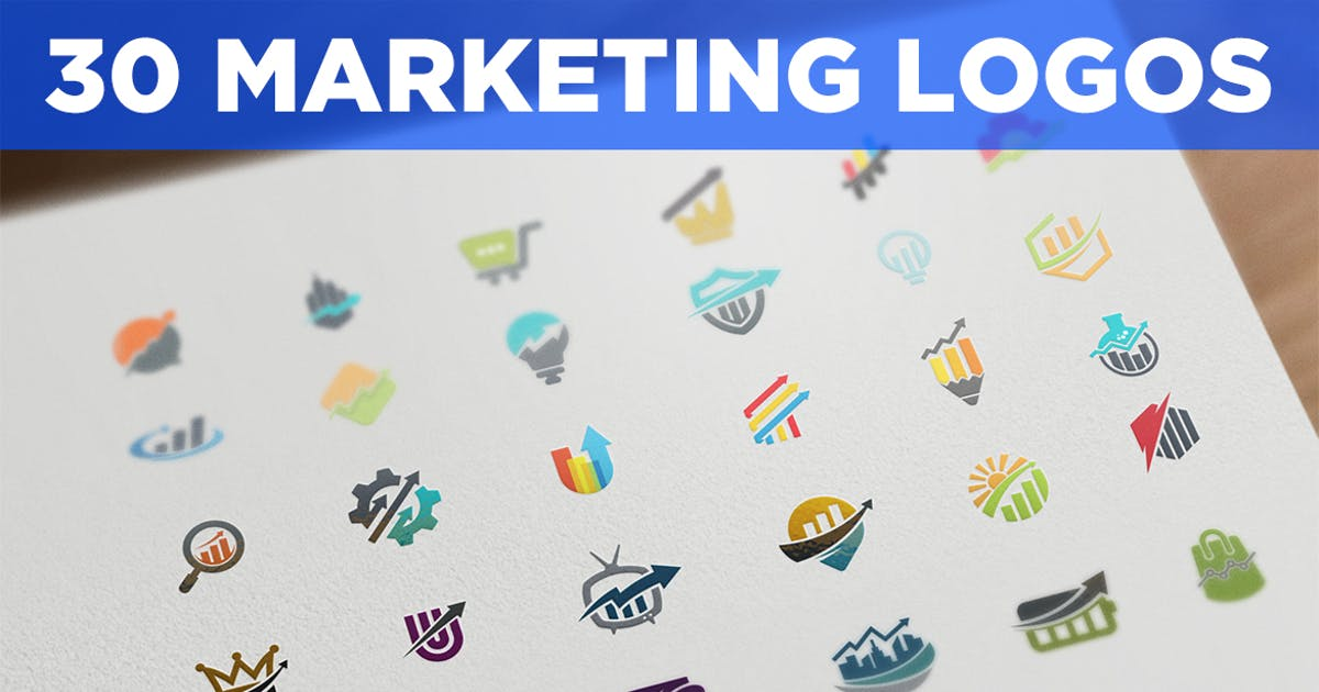 30 Marketing and SEO Logos by Suhandi
