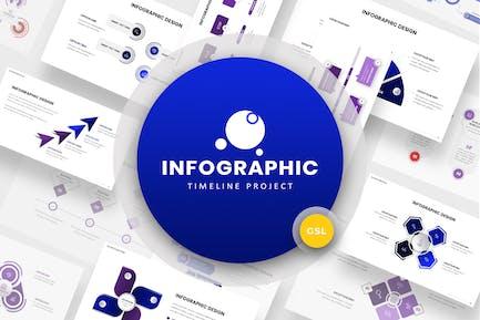 Timeline Infographic Google Slides Template