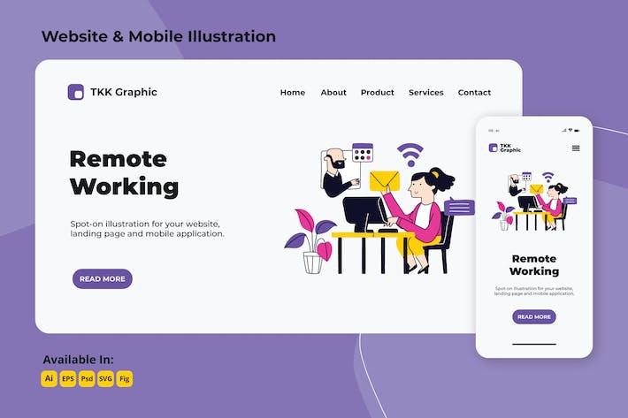 Remote Working und Outsourcing von Web und Mobile